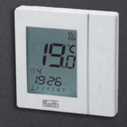 Basicline T clock thermostat